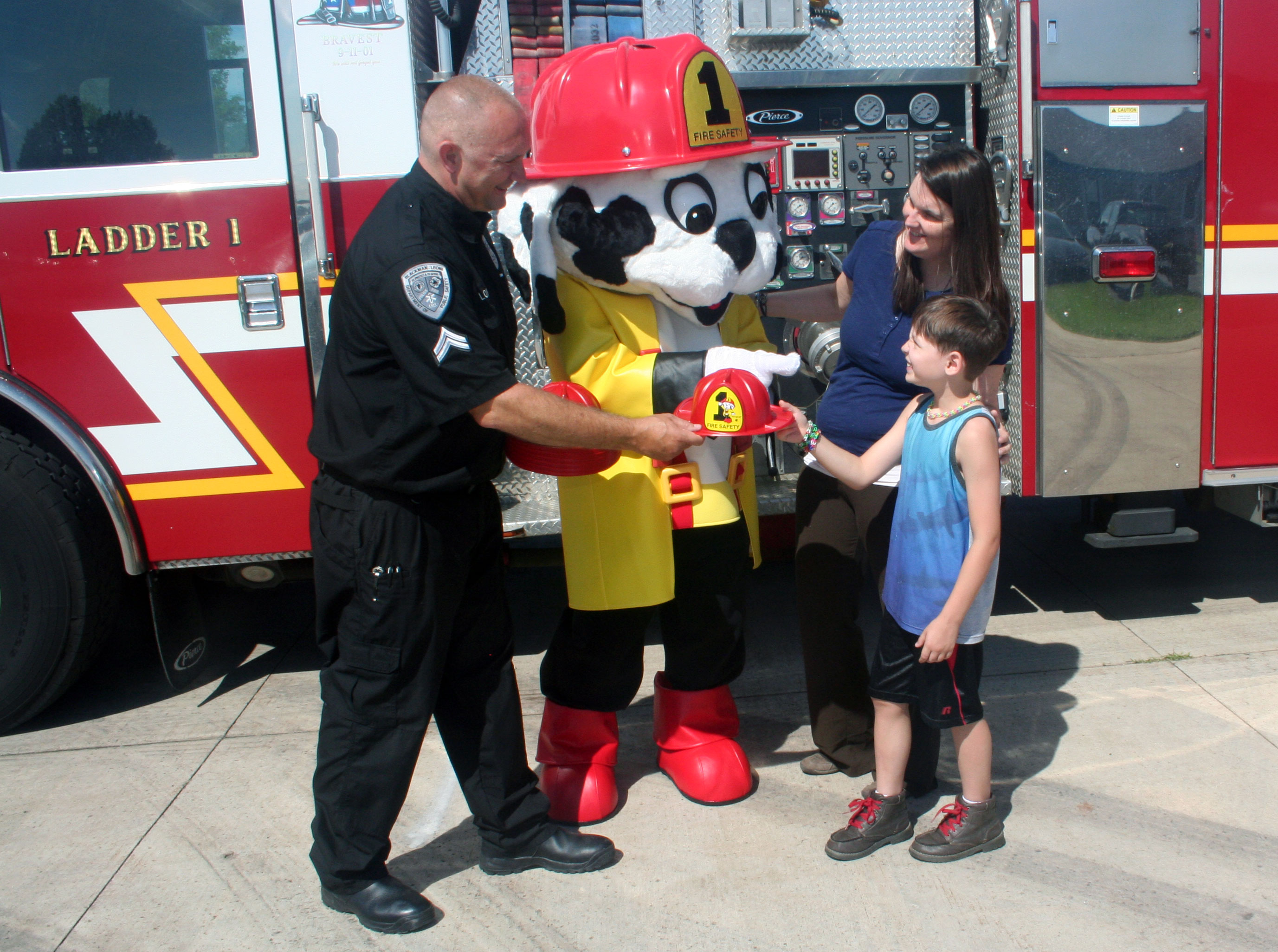 Firepup® Costume Safety Mascot Gallery 1