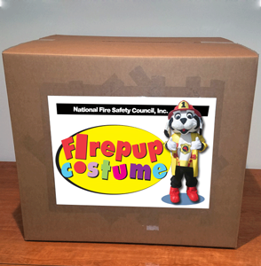 Firepup® Costume Storage & Shipping Box